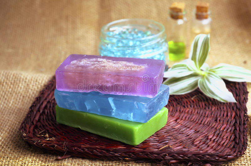 Download Color soap stock image. Image of hand, herbal, body, made - 22930277