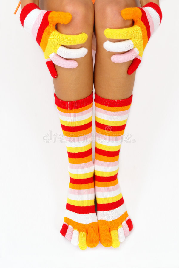 Free Color Socks Stock Photography - 1581772
