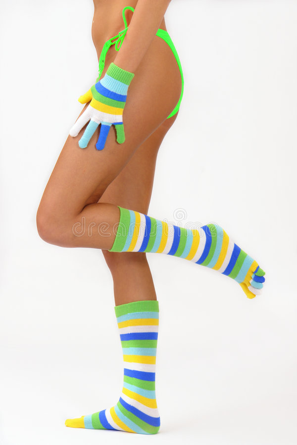 Free Color Socks Stock Photography - 1581792
