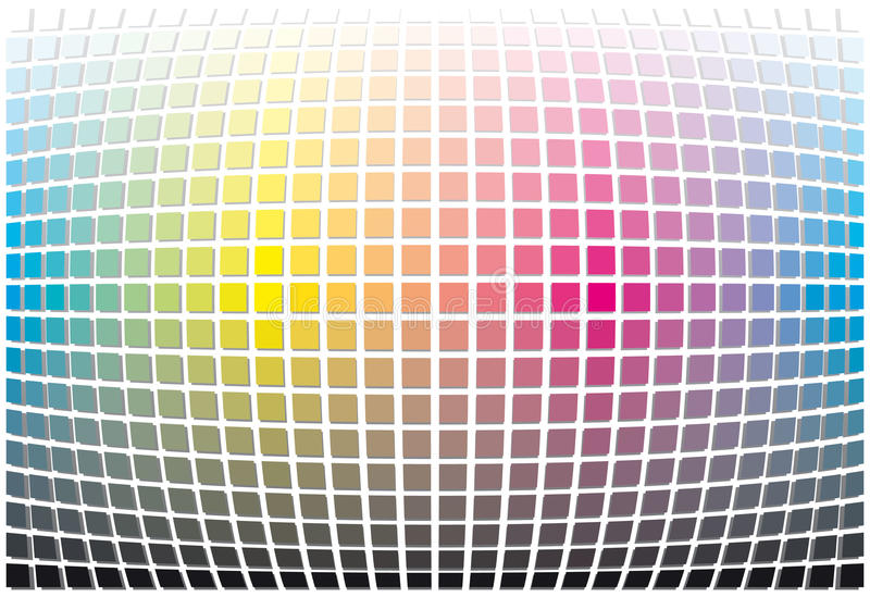 Download Color Spectrum Abstract Background Stock Illustration - Image: 14853050