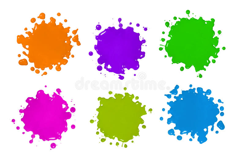 Download Color Splatters Stock Photo - Image: 13060220