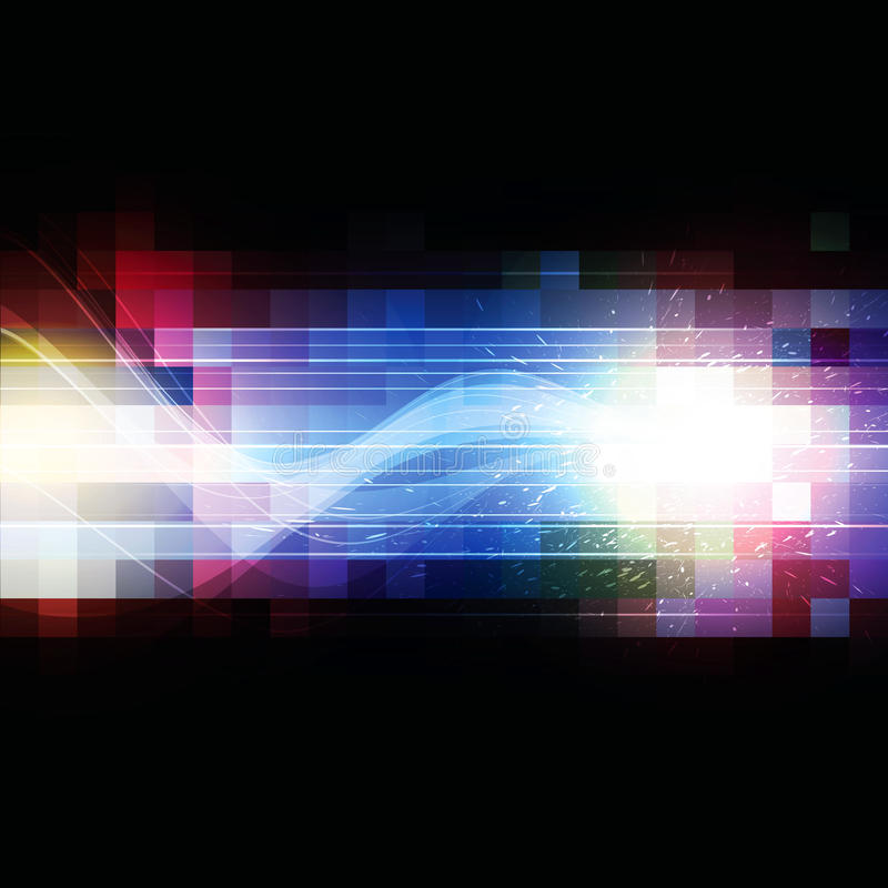 Free Color Square Pixel Background Royalty Free Stock Photography - 32027667