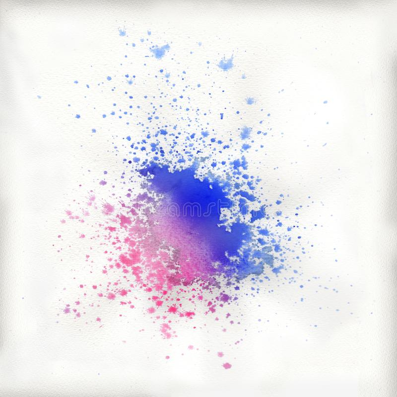 Color stain originated from a blob stock photos