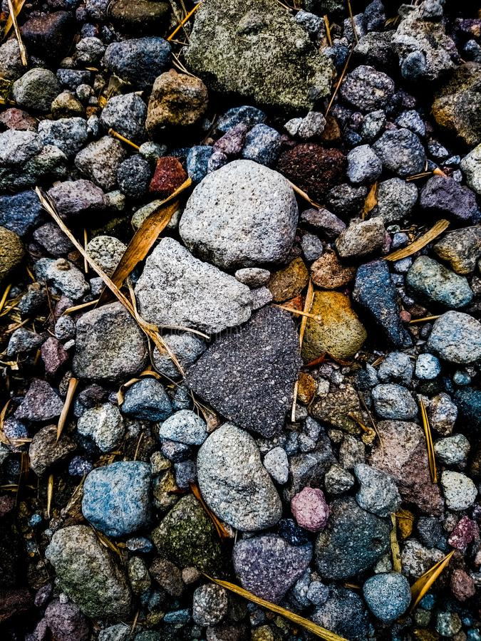 Color stone royalty free stock photo