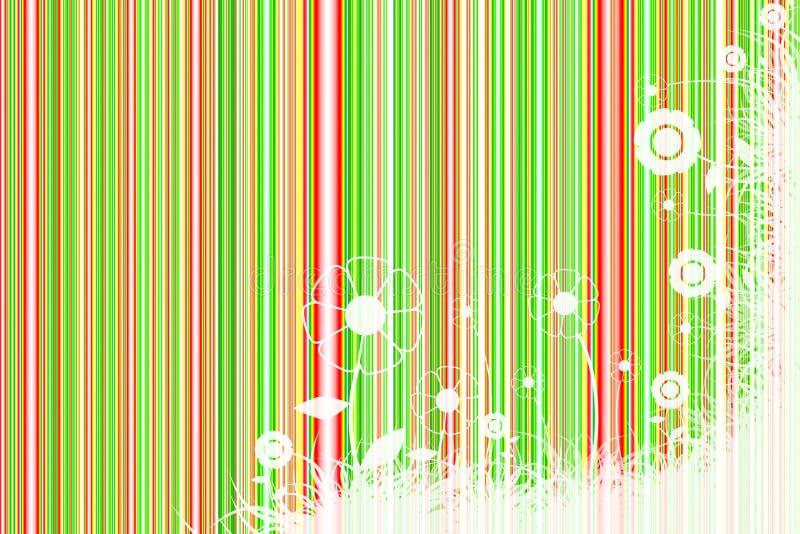 Color Stripes background stock illustration