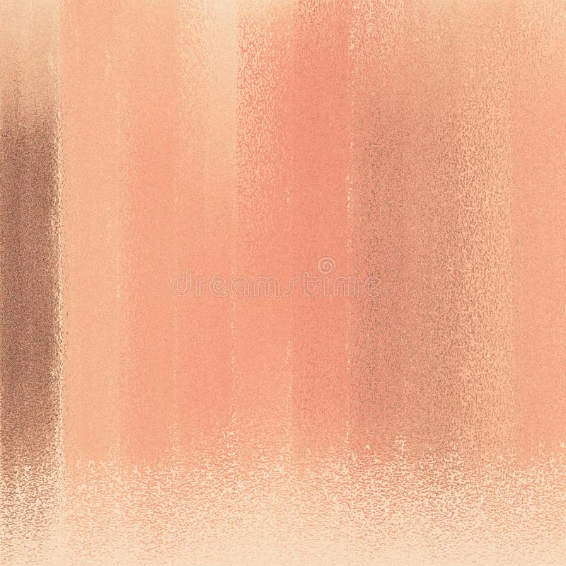 Color swatched on textured background. Abstract background with embossed metallic rough powder. royalty free illustration