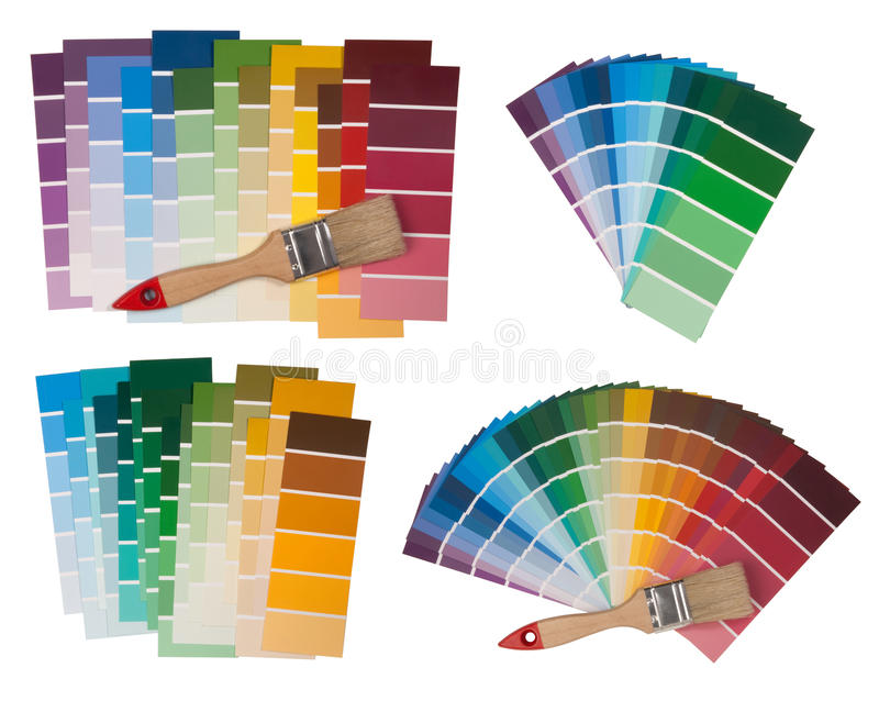 Color Swatches Stock Photography