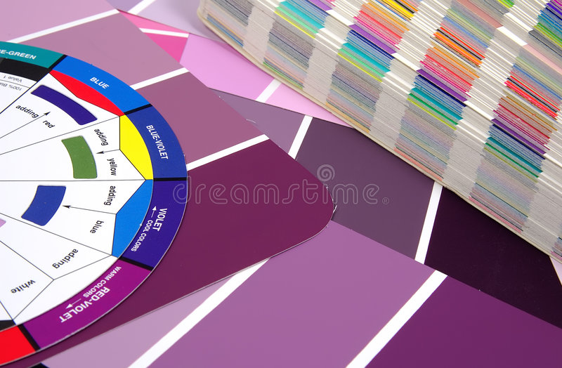 Download Color Swatches stock photo. Image of coated, swatches, code - 54916