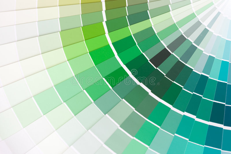 Color swatches. Abstract background of color swatches, color guides, close up stock images