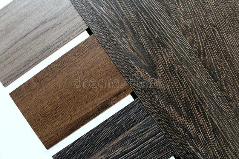 Color swatches of countertops stock photo