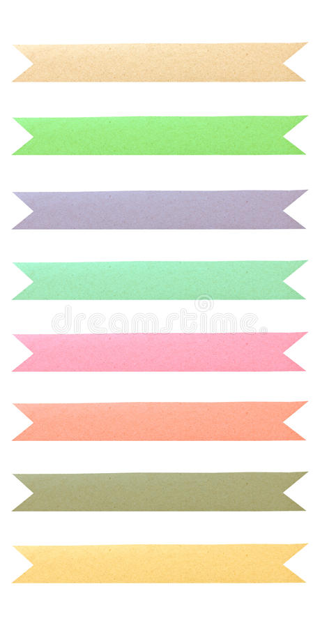 Free Color Tag Recycled Paper. Royalty Free Stock Images - 27992119