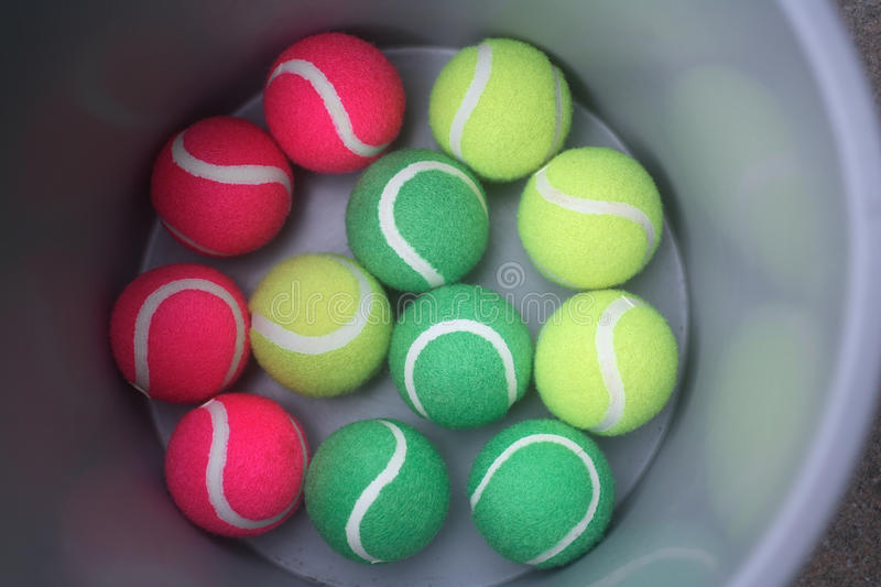 Color of the tennis. Ball royalty free stock photo