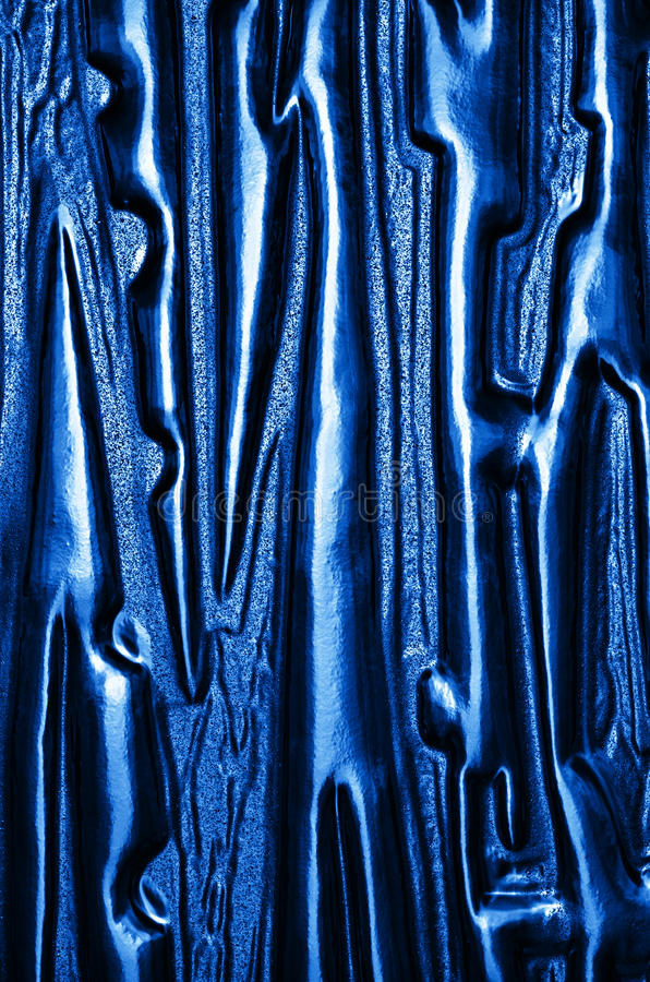 The color texture of glass. Detail abstract glass surface in the background stock photo