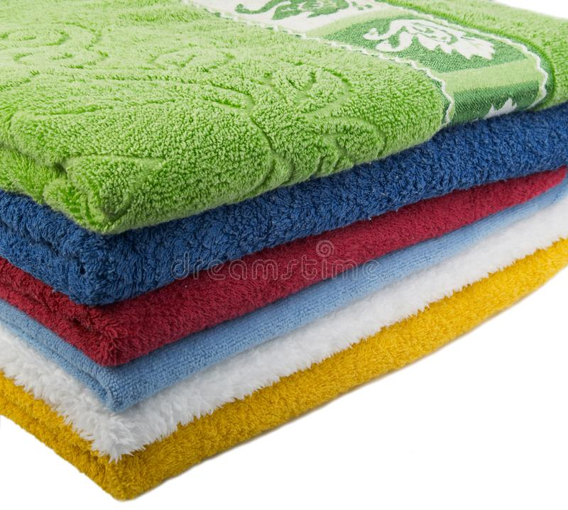 Download Color towels stock image. Image of soft, cleanliness, cloth - 7956851