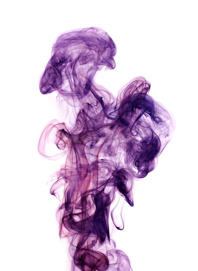 Color toxic smoke. royalty free stock image