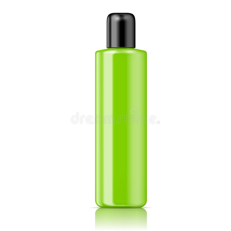 Free Color Tubular Bottle Template. Royalty Free Stock Photo - 33785195