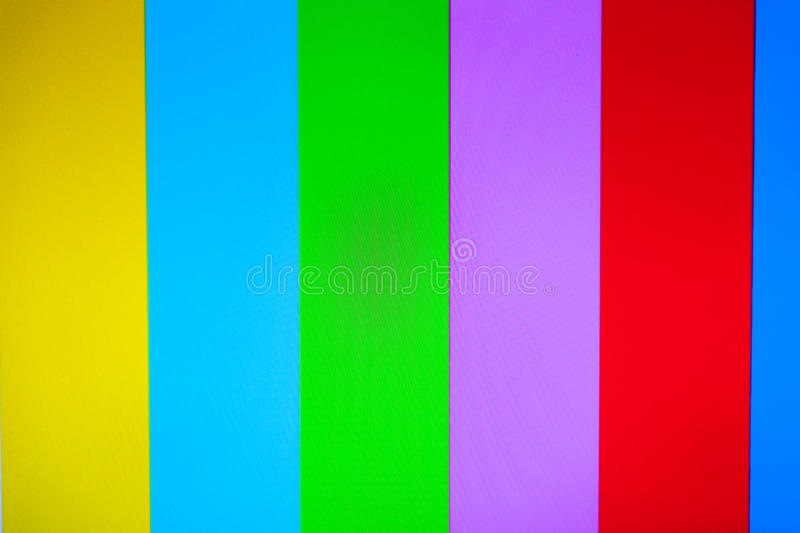 Color TV with no signal background royalty free stock photos