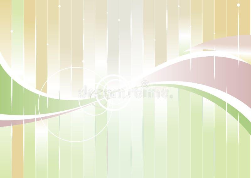 Color vertical de la onda stock de ilustración