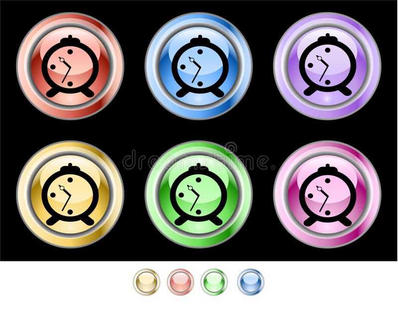 Download Color web buttons stock illustration. Image of purple - 10260330