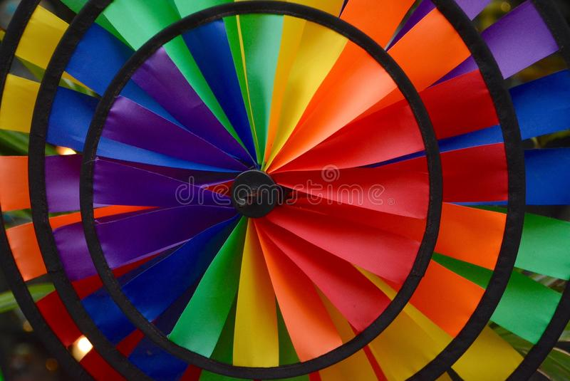 Color Wheel. Fouond in Kailua Kona, Hawaii royalty free stock images