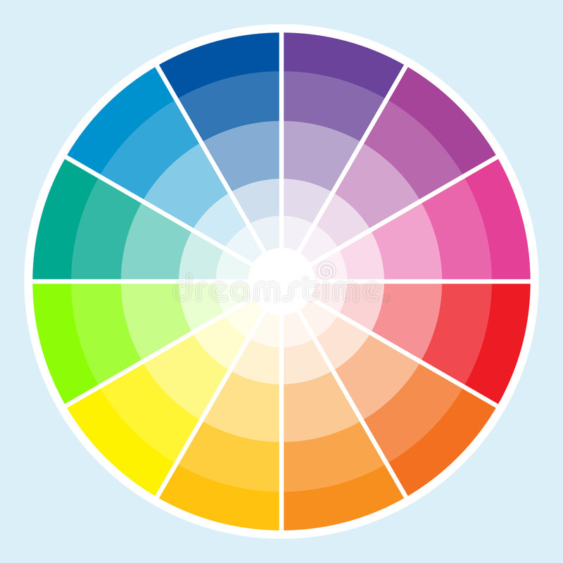 Free Color Wheel - Light Stock Image - 5045071