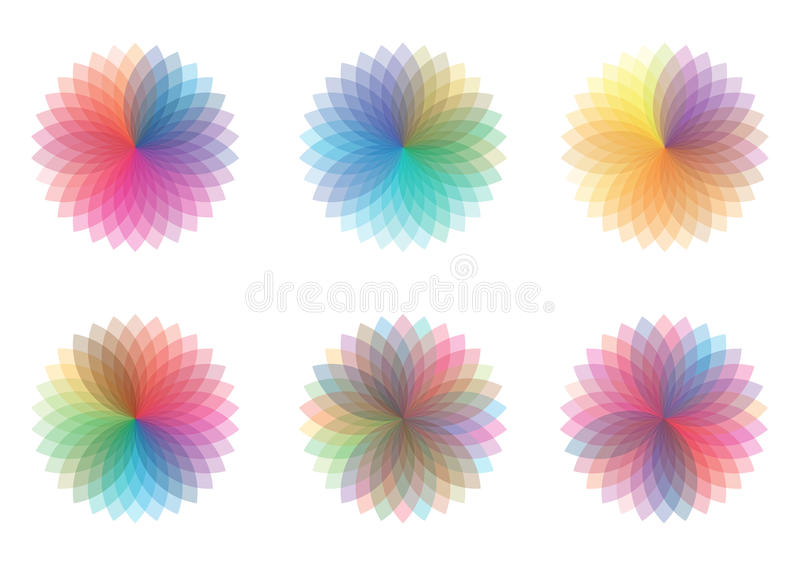 Download Color wheels stock illustration. Illustration of colors - 12008341