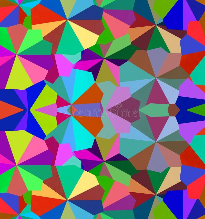 Color y formas del amor ilustración del vector
