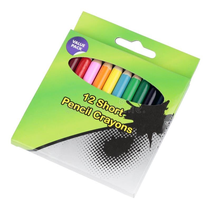 A coloração escreve o entalhe fotografia de stock