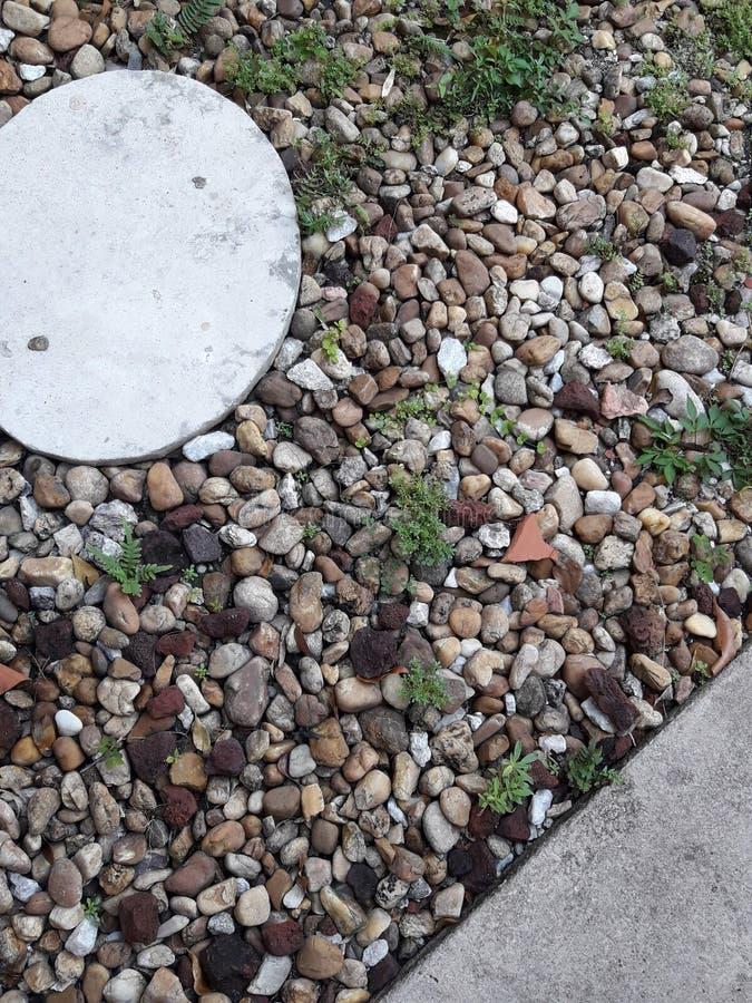 Colora le piccole rocce fotografia stock