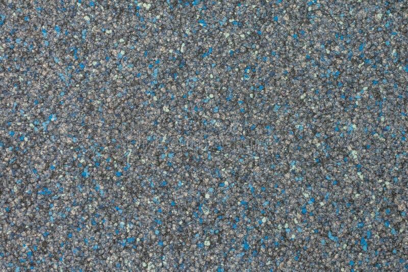 Colora o azul da textura do tapete do hotel - cinza imagens de stock