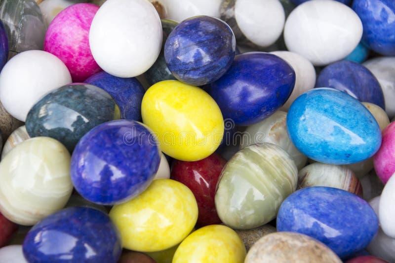 Colora ovos fotos de stock royalty free