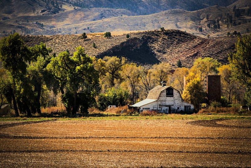 Colorado Autumn Farm royalty-vrije stock afbeeldingen