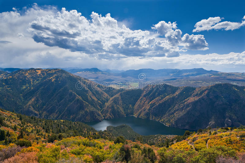 Colorado Autumn Scenic Beauty imagenes de archivo