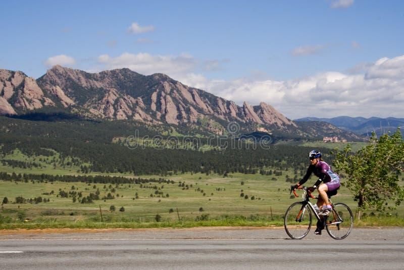 Download Colorado Bicyclist editorial stock photo. Image of events - 14524028
