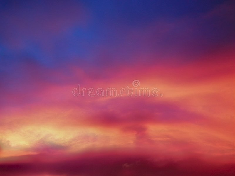 Colorado clouds royalty free stock photography