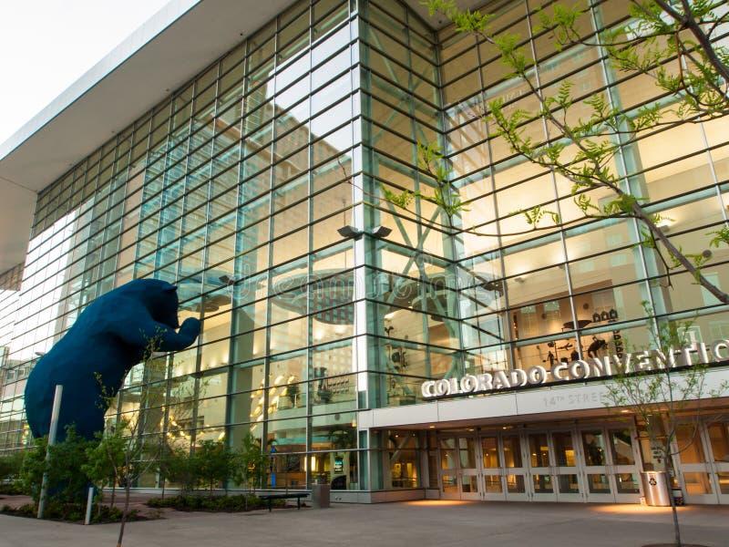 Colorado Convention Center fotografía de archivo