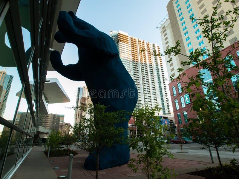 Colorado Convention Center royaltyfri foto