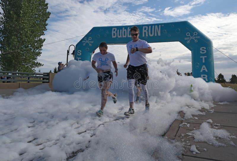 colorado denver Är inkörda Lowry för bubblan sportar Park en fond för special händelse - raiser arkivbilder