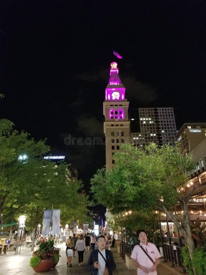 colorado denver городской стоковая фотография