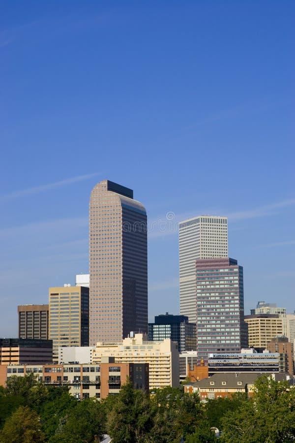 colorado Denver linii horyzontu lato zdjęcia royalty free