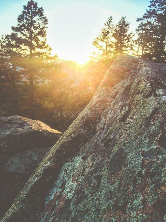 Colorado-Dunst stockfotografie
