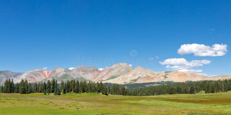 colorado färgrik bergskedja rockies royaltyfria bilder