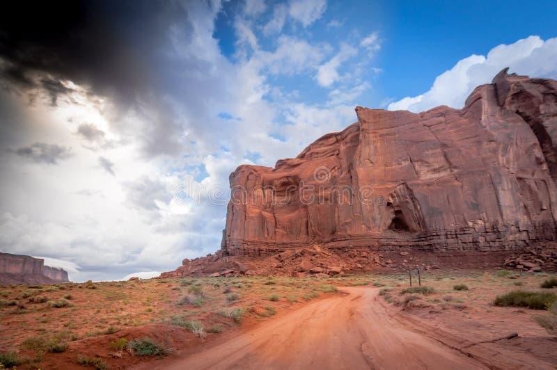Colorado för dalmonumentkanjon sandsten royaltyfri foto