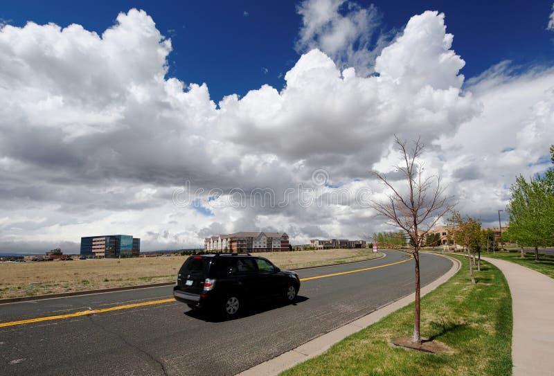 colorado flyktigt väder arkivfoton