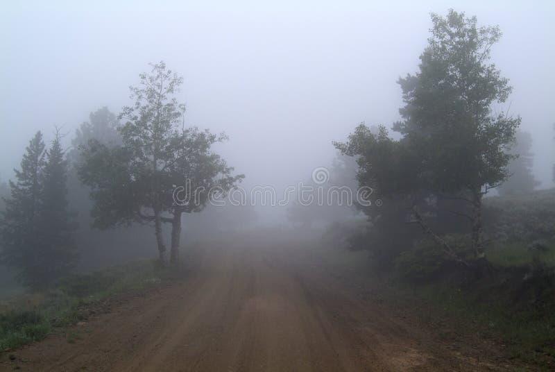 Colorado Fog royalty free stock photos