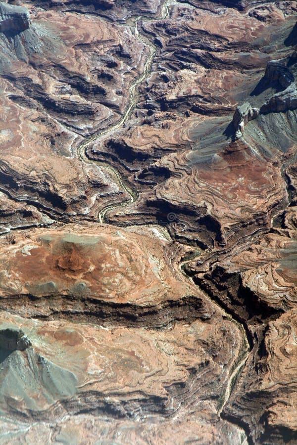 Colorado grand canyon fotografia stock
