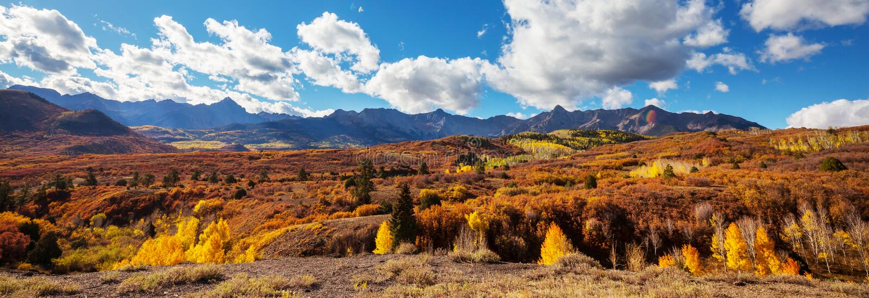 Colorado jesieni obraz royalty free