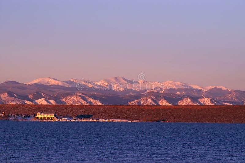 colorado lakeberg royaltyfri foto