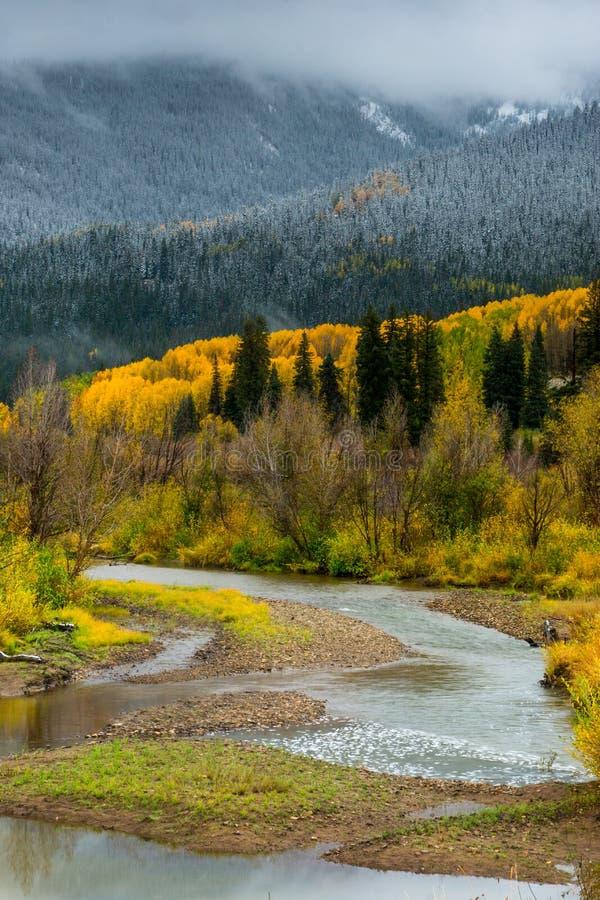 Colorado land royaltyfri fotografi