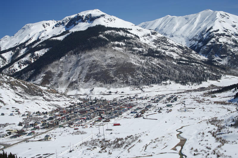 Download Colorado Mountain Town stock photo. Image of panorama - 15112152